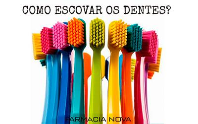 Escovar os dentes correctamente