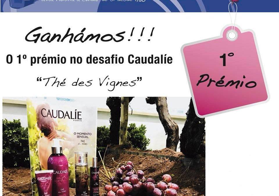 1º Prémio Concurso de Montras Caudalie Thé des Vignes